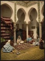 Algier - Teppiche knüpfen