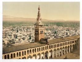 Damaskus - Minarett
