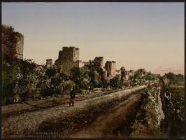 Konstantinopel - Stadtmauer