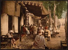 Tunis - Strassencafe